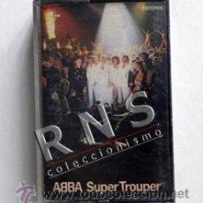 Casetes antiguos: ABBA - SUPER TROUPER - GRUPO SUECO - MÚSICA POP DISCO - AÑOS 70 80 - CASETE - CINTA CASET. Lote 39378868