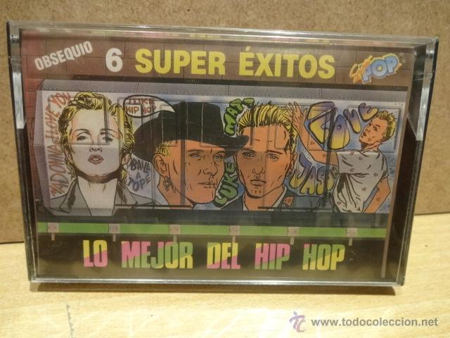 LO MEJOR DEL HIP HOP. 6 SUPER ÉXITOS. MC - OBSEQUIO REVISTA SUPER POP. PRECINTADO A ESTRENAR. (Música - Casetes)