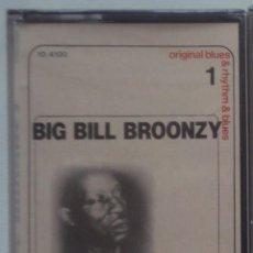 Casetes antiguos: BIG BILL BROONZY: ORIGINAL BLUES AND RHYTHM & BLUS. VOL 1. DOBLON PRECINTADA. Lote 41125306