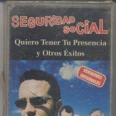 Casetes antiguos: SEGURIDAD SOCIAL,EXITOS DEL 2000. Lote 41562740