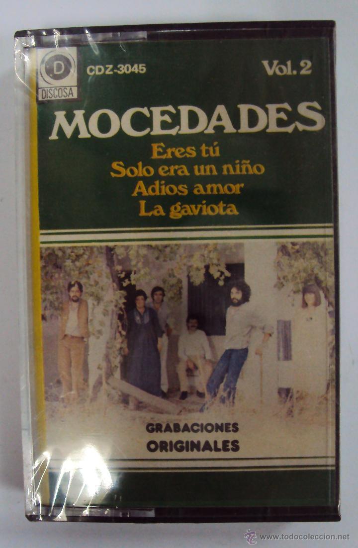 MOCEDADES: ERES TU, SOLO ERA UN NIÑO, ADIOS AMOR,... DISCOSA 1982. PRECINTADA (Música - Casetes)