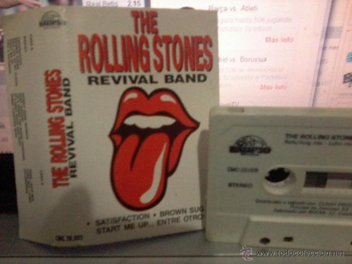 Casetes antiguos: THE ROLLING STONES REVIVAL BAND - CASETE - Foto 1 - 42599225
