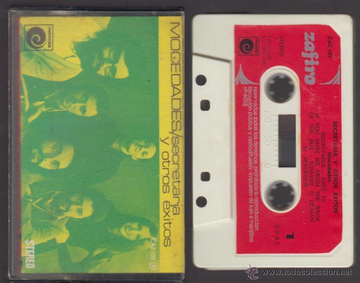 MOCEDADES - CASSETTE - SECRETARIA Y OTROS ÉXITOS -1975 ZAFIRO (Música - Casetes)