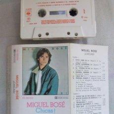 Casetes antiguos: MIGUEL BOSE / CHICAS / CBS STEREO - CINTA DE CASETE DE 1980 /. Lote 43071182