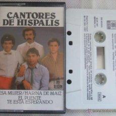 Casetes antiguos: CANTORES DE HISPALIS - ESA MUJER, HARINA DE MAIZ, EL PUENTE, ETC. HISPAVOX 1987 - CINTA DE CASSETTE. Lote 43087560