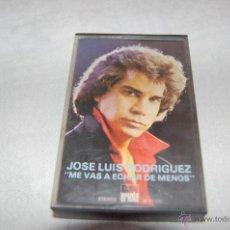 Casetes antiguos: JOSÉ LUIS RODRIGUEZ. Lote 43279590