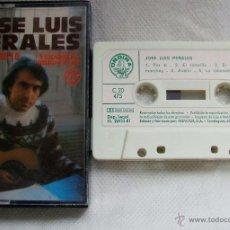 Casetes antiguos: JOSE LUIS PERALES / RARA CINTA DE CASETE 1981. Lote 43304545