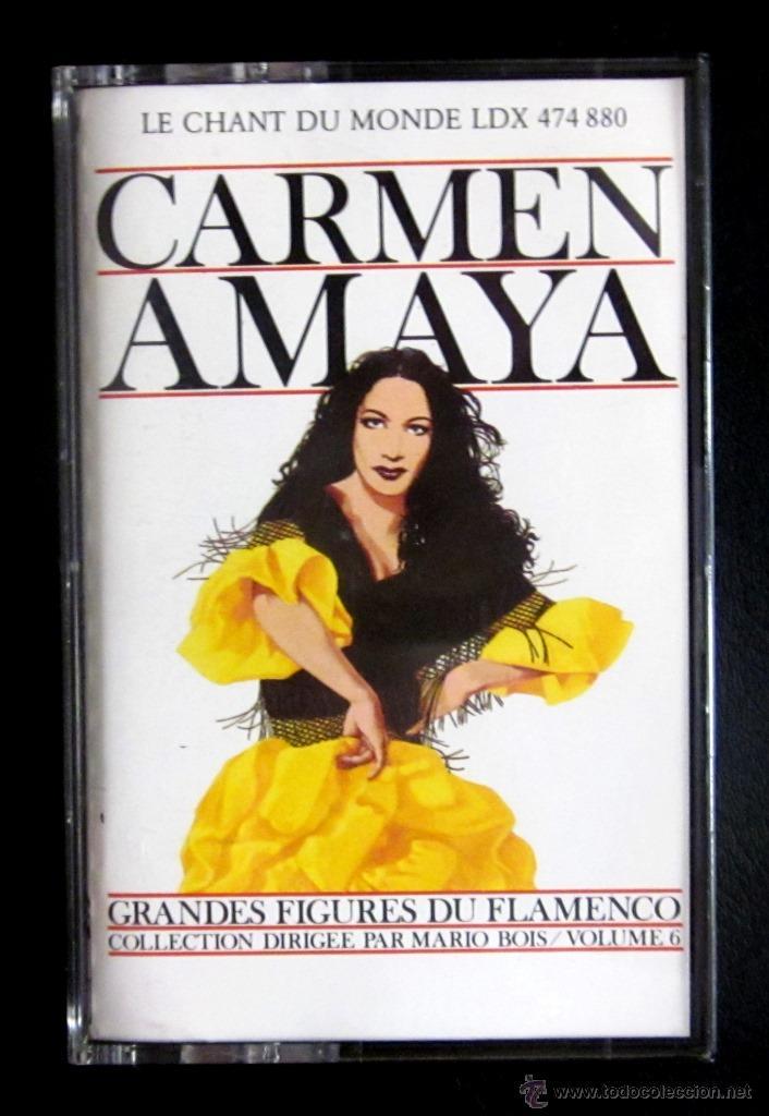 CARMEN AMAYA - LE CHANT DU MONDE (Música - Casetes)