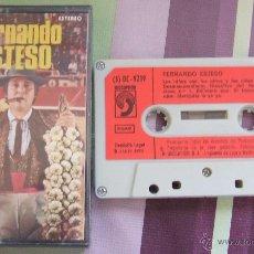 Casetes antiguos: FERNANDO ESTESO: CINTA DE CASETE DE 1975. Lote 43395573