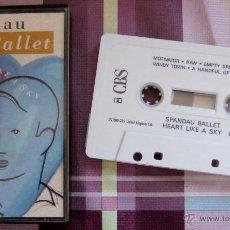 Casetes antiguos: SPANDAU BALLET - HEART LIKE SKY : CINTA DE CASETE DE 1989 **COMO NUEVA**. Lote 43413465