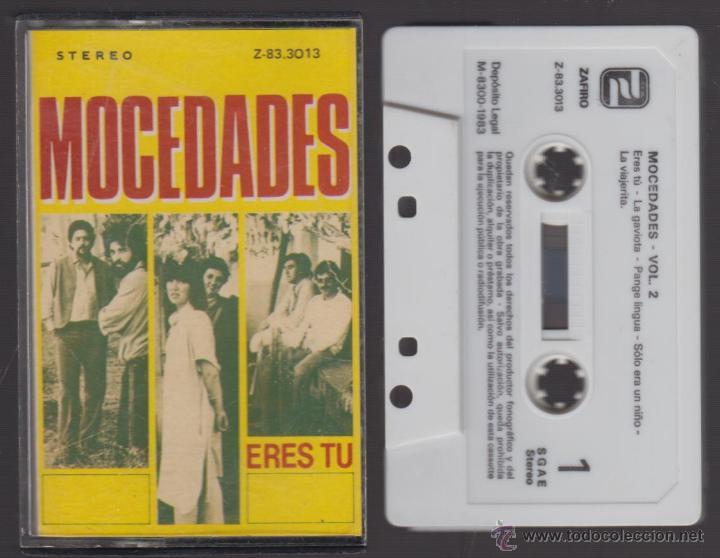 MOCEDADES CASSETTE ERES TÚ 1983 ZAFIRO (Música - Casetes)