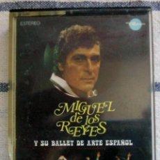 Casetes antiguos: MIGUEL DE LOS REYES Y SU BALLET DE ARTE ESPAÑOL - CINTA DE CASSETTE 1973 -. Lote 43509563