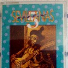 Casetes antiguos: SEVILLANAS MIX 5 - CINTA DE CASSETTE 1990 -. Lote 43509699