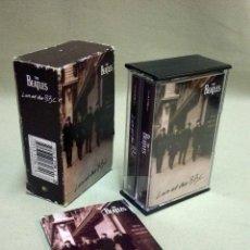 Casetes antiguos: CASETE, CINTA DE AUDIO, THE BEATLES, LIVE AT THE BBC, DOBLE. Lote 44130361