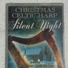 Casetes antiguos: CHRISTMAS CELTIC HARP SILENT NIGHT (MUSICA CELTA ARPA) THE FIRST NOEL,CELTIC CAROL -- REFM1E1. Lote 44231341