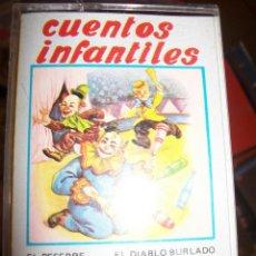 Casetes antiguos: CASSETTE - CUENTOS INFANTILES. Lote 44326219