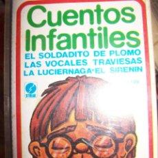 Casetes antiguos: CASSETTE - CUENTOS INFANTILES. Lote 44326481