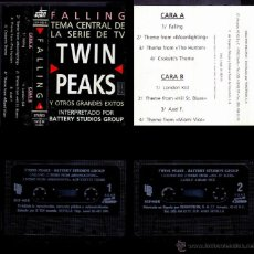 Casetes antiguos: BATTERY STUDIOS'S GROUP - TWIN PEAKS - SPAIN CASSETTE EFEN 1991 - FALLING TV. Lote 44572284