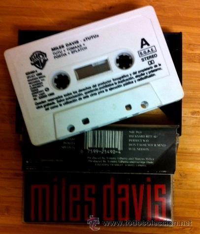 Casetes antiguos: MILES DAVIS - TUTU - 1986 - Foto 2 - 44737876