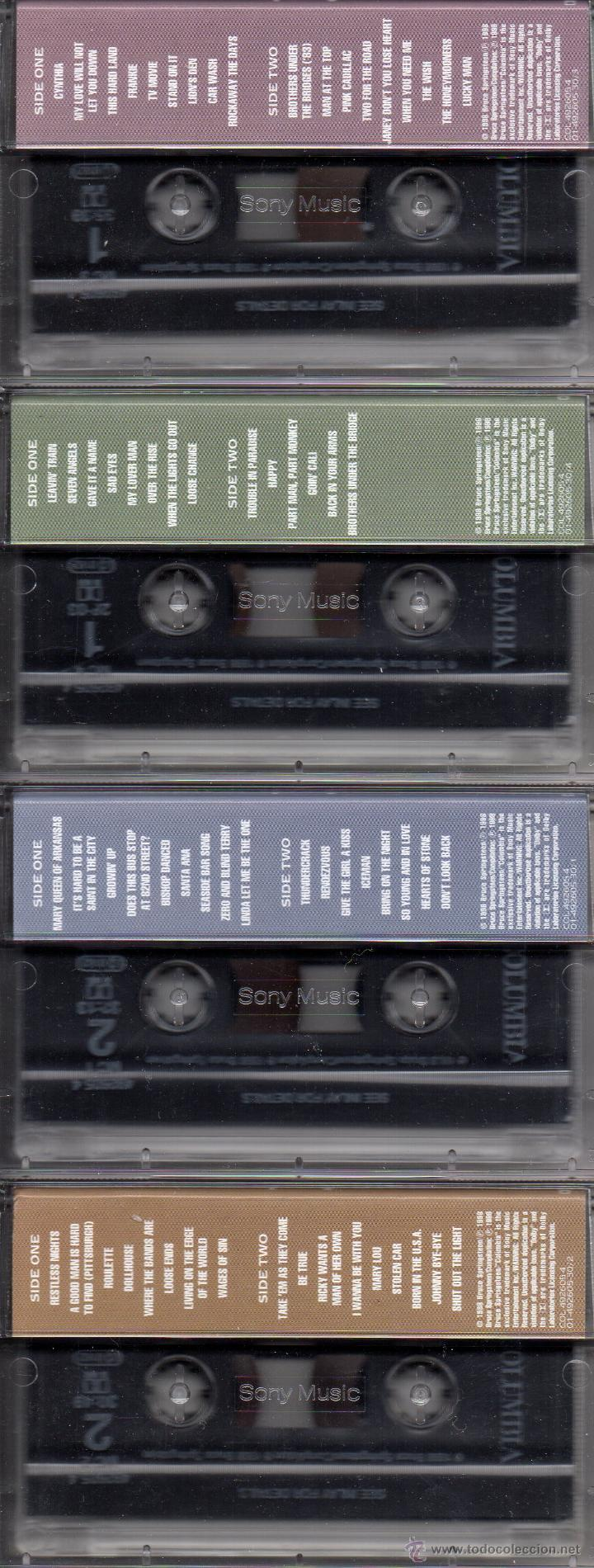 Casetes antiguos: BRUCE SPRINGSTEEN TRACKS DELUXE 4-CASSETTE BOX SET. EN MUY BUEN ESTADO. - Foto 3 - 44834652