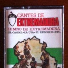 Casetes antiguos: HIMNO DE EXTREMADURA - 1986. Lote 45134787