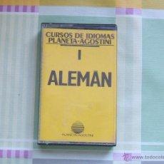 Casetes antiguos: ALEMAN 1 - CURSO DE IDIOMAS PLANETA-AGOSTINI. Lote 45373867