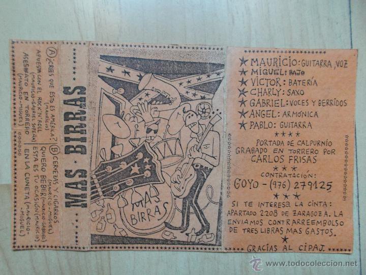 Casetes antiguos: MAS BIRRAS - MAQUETA -1986 - 1989 - DIBUJOS DE CALPURNIO - MUY DIFICIL DE CONSEGUIR - Foto 2 - 45439474