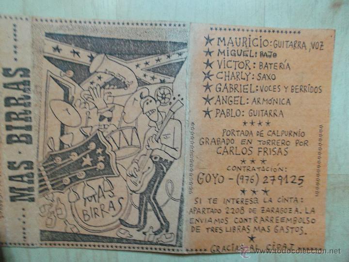 Casetes antiguos: MAS BIRRAS - MAQUETA -1986 - 1989 - DIBUJOS DE CALPURNIO - MUY DIFICIL DE CONSEGUIR - Foto 3 - 45439474