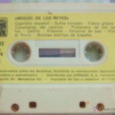 Casetes antiguos: MIGUEL DE LOS REYES - CASSETTE . Lote 45621004