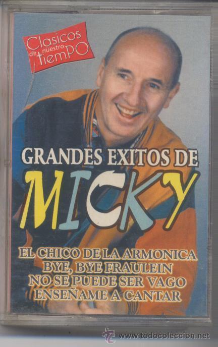 MICKY,GRANDES EXITOS DEL 2000 8 TEMAS (Música - Casetes)