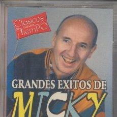 Casetes antiguos: MICKY,GRANDES EXITOS DEL 2000 8 TEMAS. Lote 45789647