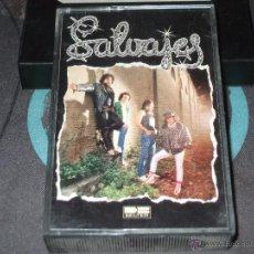 Cassettes Anciennes: SALVAJES - SALVAJES - BELTER - CASETE. Lote 45932229