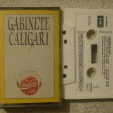 Casetes antiguos: GABINETE CALIGARI.EDICION ESPECIAL COCA-COLA...RARA...PEDIDO MINIMO 5€. Lote 45948843