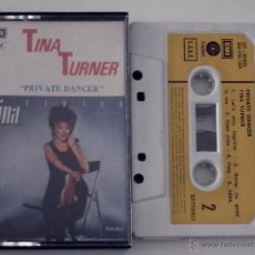 Casetes antiguos: CINTA TINA TURNER - PRIVATE DANCER. Lote 46010404