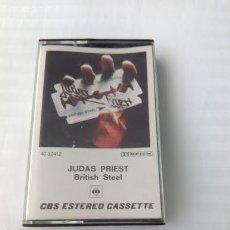 Casetes antiguos: CASETE / JUDAS PRIEST / BRITISH STEEL. Lote 44178473