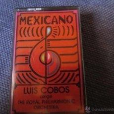 Casetes antiguos: MEXICANO- LUIS COBOS- CBS 1984. Lote 46639884