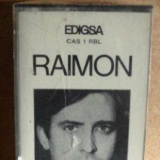 Casetes antiguos: RAIMON. MC / EDIGSA - 1969. 14 TEMAS. RARO Y DIFÍCIL. PRECINTADO.. Lote 47022601
