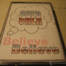 Cassettes Anciennes: CINTA CASETE: CHER.- BELIEVE. Lote 47036913