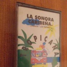 Casetes antiguos: LA SONORA CARIBEÑA-SALSA CUBANA. Lote 47124543