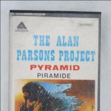Casetes antiguos: CASETE THE ALAN PARSONS PROJECT - PYRAMID / PIRÁMIDE - ED. ARISTA - CASSETTE. Lote 47480578