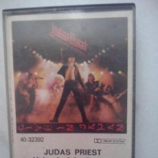 Casetes antiguos: JUDAS PRIEST - UNLEASHED IN THE EAST // LIVE IN JAPAN - CASETE CBS 1983. Lote 47971829