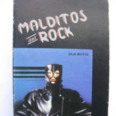 Casetes antiguos: MALDITOS DEL ROCK. DESDE SANTURCE A BILBAO BLUES BAND ROMANTICA BANDA LOCAL VAINICA DOBLE VER FOTOS.. Lote 48273810