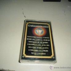 Casetes antiguos: CASETE NAVEGANDO LLEGUE A ESPAÑA COLOMBIANAS B-42. Lote 218391685