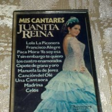 Casetes antiguos: VENDO CASETE DE JUANITA REINA (MÁS FOTOS EN EL INTERIOR).. Lote 48396501