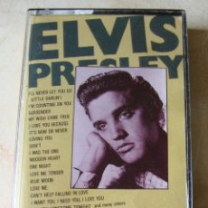 Casetes antiguos: ELVIS PRESLEY - 20 SONGS FOR LOVERS ONLY - CASSETTE 1987. Lote 48707825