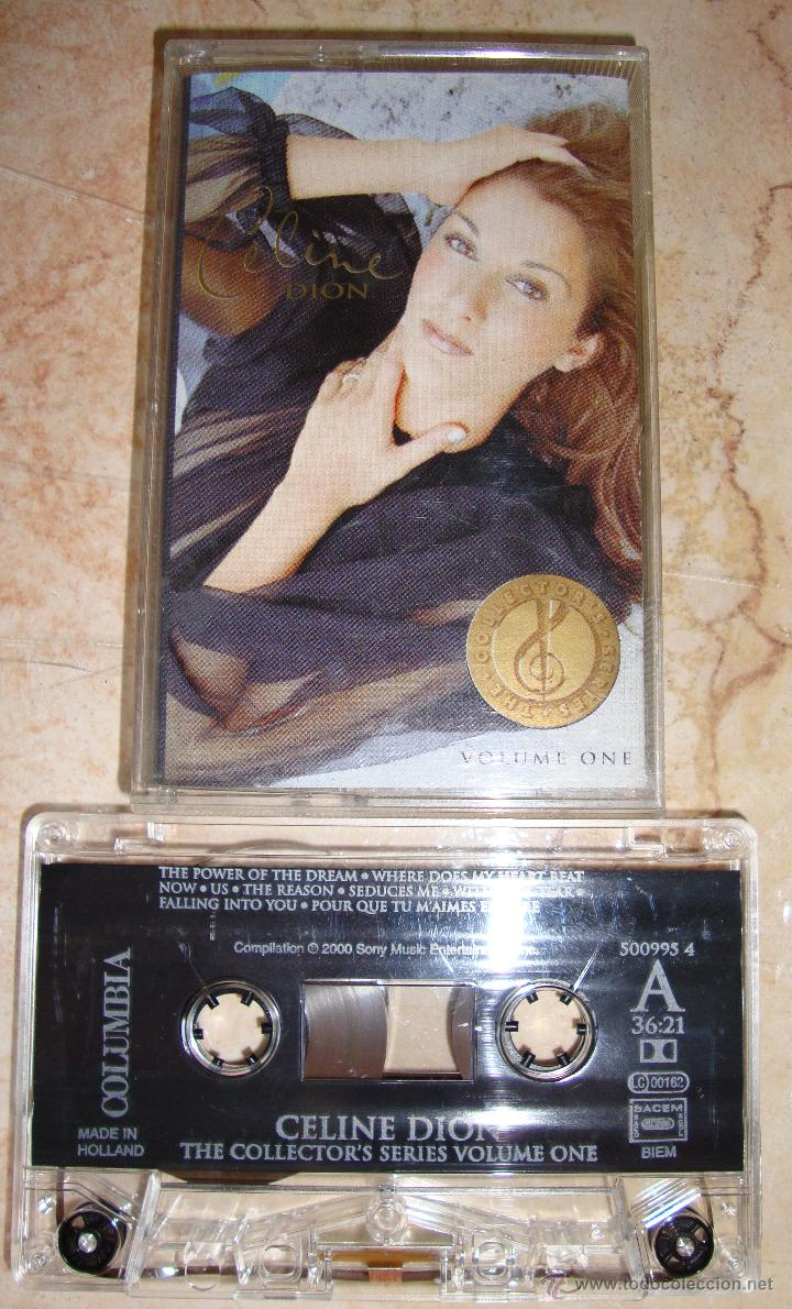 CELINE DION - THE COLLECTORS SERIES VOL. 1 - EDICION CASSETTE (Música - Casetes)