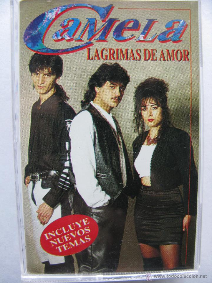 CAMELA. LAGRIMAS DE AMOR. 8 TEMAS. 1995. DISCOS COCK. 40-2098 (Música - Casetes)