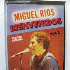 Casetes antiguos: MIGUEL RIOS. BIENVENIDOS. VOL. 1. VERSION ORIGINAL. 7 TEMAS. TIP 810 919-4. 1983.. Lote 48881699