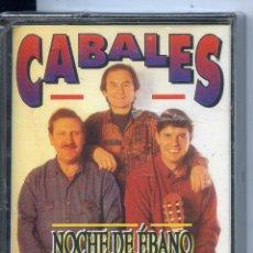 Casetes antiguos: CABALES / NOCHE DE EBANO (RUMBAS Y PASODOBLES) PRECINTADA. Lote 48978800