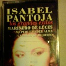 Casetes antiguos: ISABEL PANTOJA-LOS GRANDES EXITOS. Lote 49020521